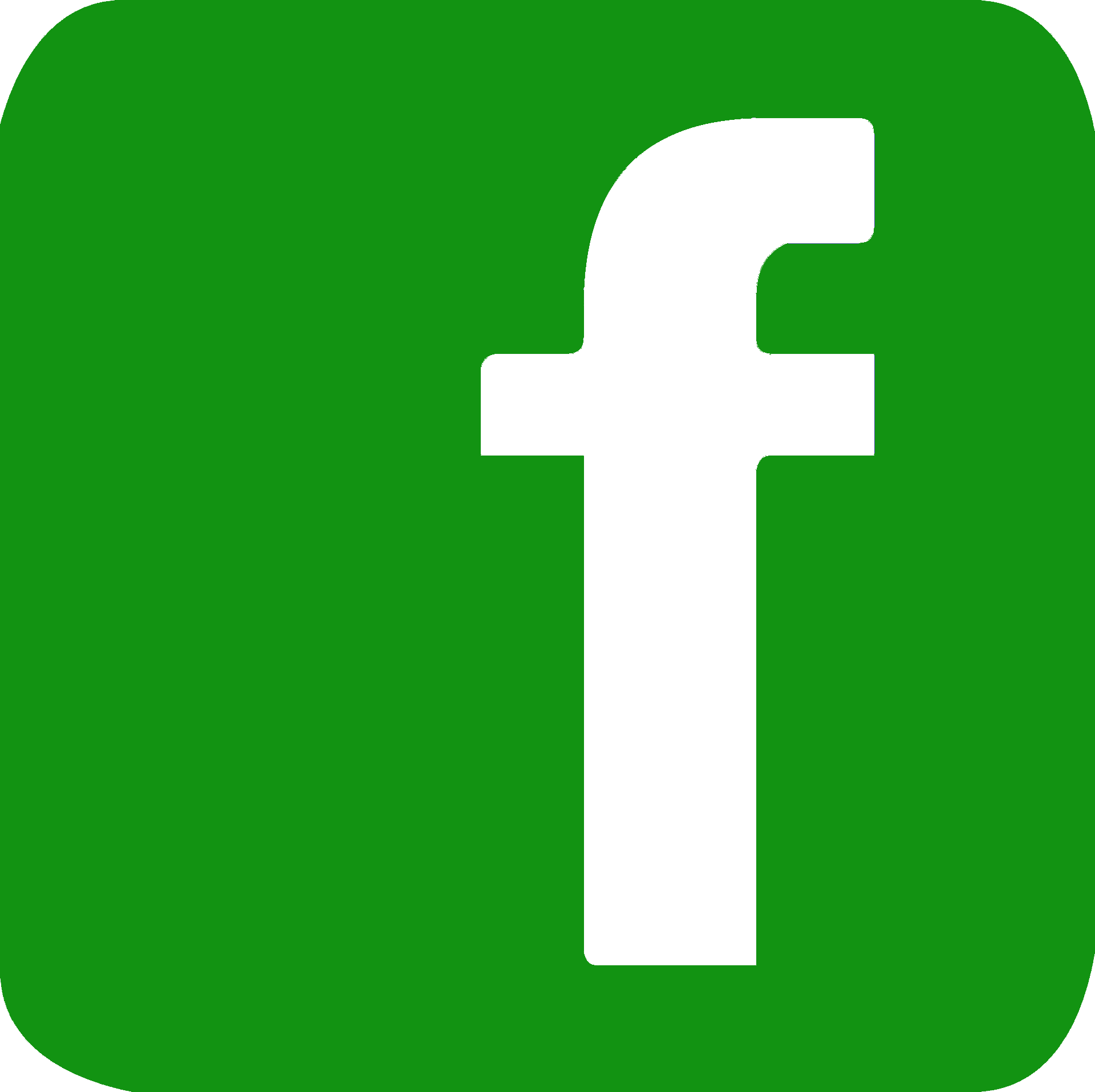 fb logo green